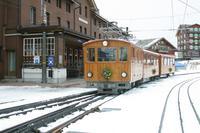 """photo d'une """"He 2/2 8-11"""" prise à Kleine Scheidegg"""