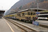 """photo d'une """"ABeh 4/4 II 311-313"""" prise à Interlaken Ost"""