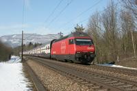 """photo d'une """"Re 460 000-118"""" prise à Lenzburg"""