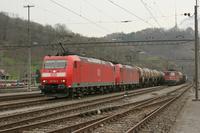 """photo d'une """"BR 185"""" prise à Ziegelbrücke"""