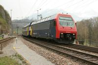 """photo d'une """"Re 450 000-114"""" prise à Ziegelbrücke"""