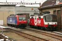 """photo d'une """"Re 436 111-113 141 181"""" prise à Burgdorf"""