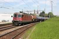 """photo d'une """"Re 620 (Re 6/6) 11601-11602"""" prise à Olten Hammer"""