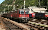 """photo d'une """"Re 430 (Re 4/4 III) 11350-11370"""" prise à Bellinzona"""