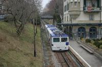 """photo d'une """"He 298 821-823"""" prise à Lausanne-Jordils"""