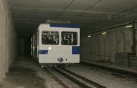 """photo d'une """"Bhe 598 811-812"""" prise à Lausanne-Flon"""
