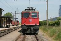 "photo d'une ""Ae 610 (Ae 6/6) 11403-11520"" prise à Lucens"