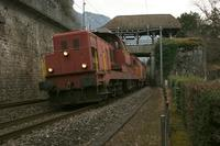 "photo d'une ""Bm 6/6 18501-18514"" prise à Veytaux-Chillon"