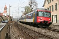 """photo d'une """"RABDe 510 (RABDE 12/12) 1101-1118"""" prise à Küsnacht ZH"""