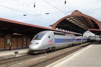 """photo d'une """"TGV"""" prise à Strabourg"""