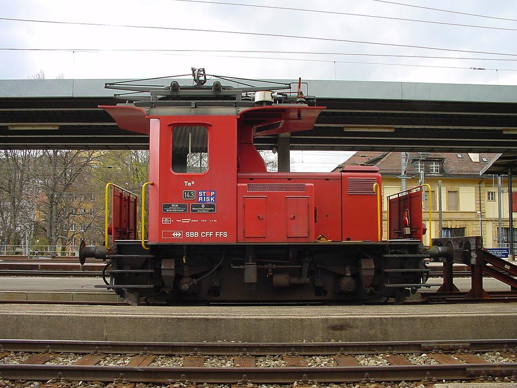 Photo d'une Te III, Prise à La Chaux-de-Fonds le 27 avril 2002 04:57