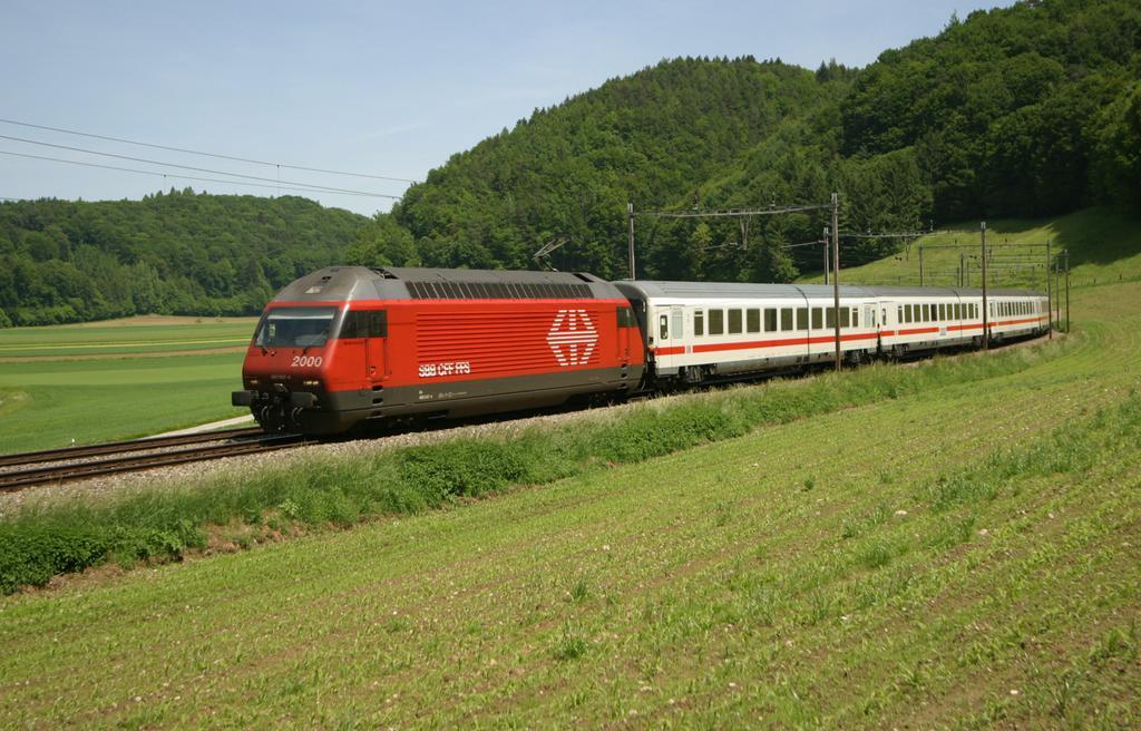 Photo d'une Re 460 000-118, Prise à Burgdorf le 23 mai 2003 12:52