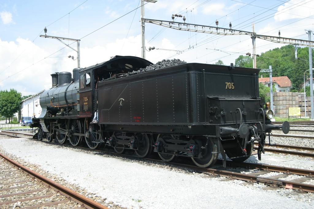 Photo d'une A 3/5 705, Prise à Lyss le 15 juin 2003 02:01