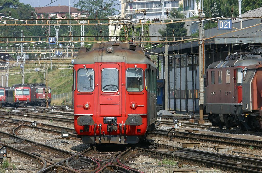 Photo d'une RBe 4/4 1401-1406, Prise à Lausanne le 31 juillet 2004 10:32
