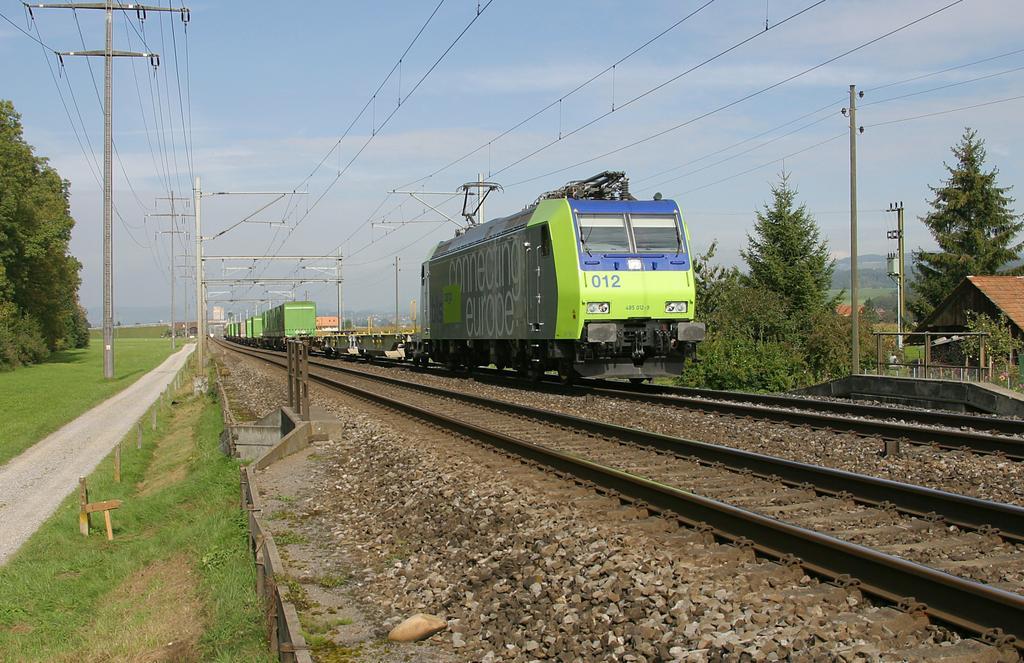 Photo d'une Re 485 ???, Prise à Kiesen le 30 septembre 2004 12:46