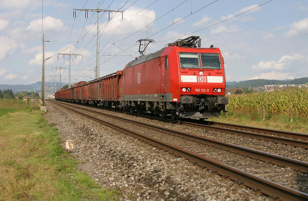 Photo d'une BR 185, Prise à Wichtrach le 1 octobre 2004 02:03