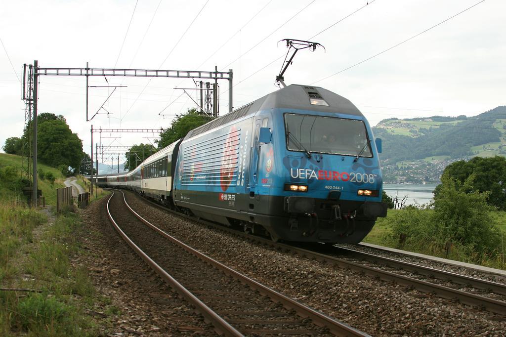 Photo d'une Re 460 000-118, Prise à Lieu à déterminer le 7 juillet 2008 12:31