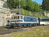 """photo d'une """"GDe 4/4 6001-6004"""" prise à Montreux"""