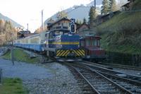 """photo d'une """"Gm 4/4 2003-2004"""" prise à Gstaad"""