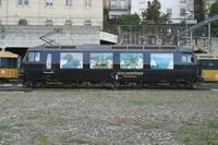 """photo d'une """"Ge 4/4 8001-8004"""" prise à Montreux"""