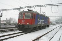 """photo d'une """"Re 620 (Re 6/6) 11605-11689"""" prise à Romont"""