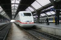 """photo d'une """"ICE 1"""" prise à Zurich HB"""