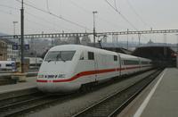"""photo d'une """"ICE 1"""" prise à Zürich HB"""