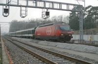 """photo d'une """"Re 460 000-118"""" prise à Creux-de-Genthod"""
