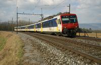 """photo d'une """"RBDe 560 001-083 100-135"""" prise à Busswil"""