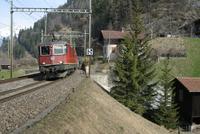 "photo d'une ""Re 420 (Re 4/4 II) 11156-11171 11173-11281 11283-11311 11313-11349 11371-11397"" prise à Blausee-Mitholz"