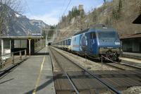 """photo d'une """"Re 465 001-018"""" prise à Blausee-Mitholz"""