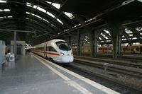"""photo d'une """"ICE T"""" prise à Berlin Ostbahnhof"""