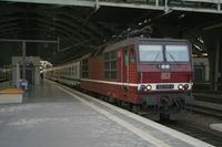 """photo d'une """"BR 180"""" prise à Berlin Ostbahnhof"""