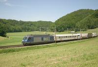 """photo d'une """"Re 465 001-018"""" prise à Burgdorf"""