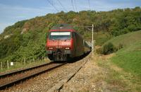"""photo d'une """"Re 460 000-118"""" prise à Laufelfingen"""