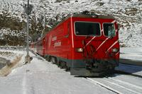 "photo d'une ""HGe 4/4 II 101-108"" prise à Oberalppasshöhe-Calmot"