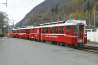 """photo d'une """"BDeh 4/4 1-8"""" prise à Interlaken Ost"""