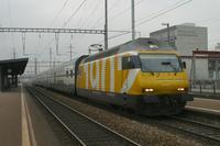 """photo d'une """"Re 460 000-118"""" prise à Pratteln"""
