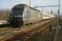 """photo d'une """"Re 465 001-018"""" prise à Gelterkinden"""