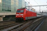 """photo d'une """"BR 101"""" prise à Basel SBB"""