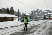 "photo d'une ""Be 4/4 5001-5004"" prise à Gstaad"