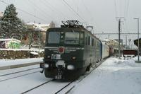 """photo d'une """"Ae 610 (Ae 6/6) 11403-11520"""" prise à Neuchâtel-Serrières"""