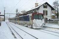 """photo d'une """"RBDe 560 001-083 100-135"""" prise à Neuchâtel-Serrières"""
