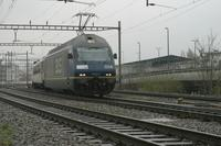 """photo d'une """"Re 465 001-018"""" prise à Basel Bad"""