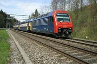 """photo d'une """"Re 450 000-114"""" prise à Kemptthal"""