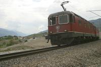 """photo d'une """"Re 620 (Re 6/6) 11605-11689"""" prise à Salgesch"""