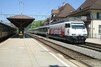 """photo d'une """"Re 460 000-118"""" prise à Langnau"""
