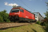"""photo d'une """"Re 460 000-118"""" prise à Brugg BE"""