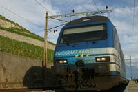 """photo d'une """"Re 460 000-118"""" prise à Villette VD"""