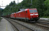 """photo d'une """"BR 185"""" prise à Blausee-Mitholz"""